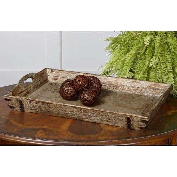 Uttermost Abila Wooden Tray