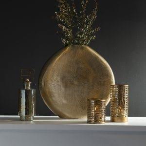 Uttermost Gretchen Gold Vase