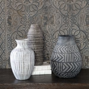 Uttermost Natchez Geometric Vases, S/3