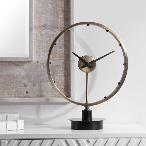Uttermost Davy Modern Table Clock
