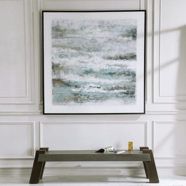 Uttermost Above The Clouds Hand Painted Art