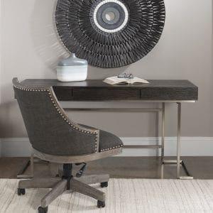 Uttermost Claude Modern Oak Desk