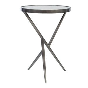 Uttermost Absalom Round Accent Table