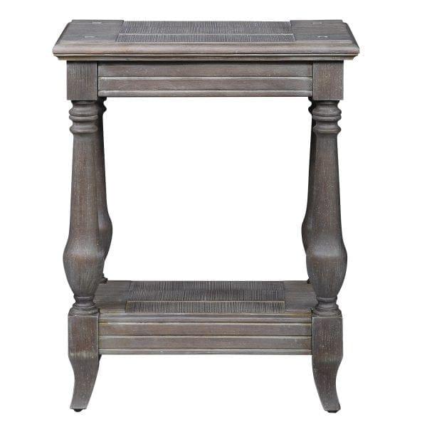 Uttermost Mardonio Distressed Accent Table