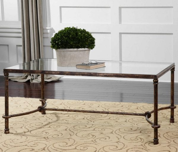 Uttermost Warring Iron Coffee Table