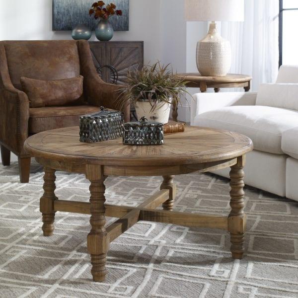 Uttermost Samuelle Wooden Coffee Table