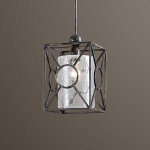 Uttermost Arbela 1 Light Mini Pendant