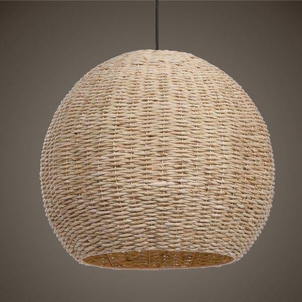 Uttermost  Seagrass 1 Light Dome Pendant