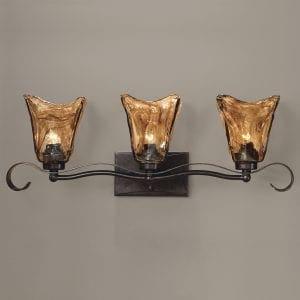Uttermost Vetraio 3 Light Bronze Vanity Strip