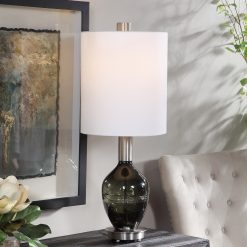 Uttermost Aderia Sage Green Accent Lamp