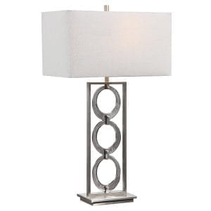 Uttermost Perrin Nickel Table Lamp