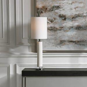 Uttermost Windsor Ivory Crackle Buffet Lamp