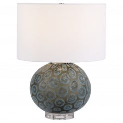 Uttermost Agate Slice Charcoal Table Lamp
