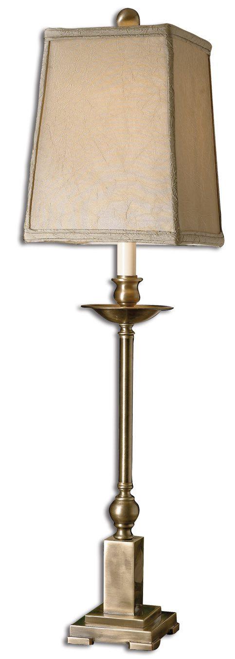 Uttermost Lowell Bronze Buffet Lamp