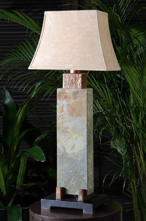Uttermost Tall Slate Table Lamp