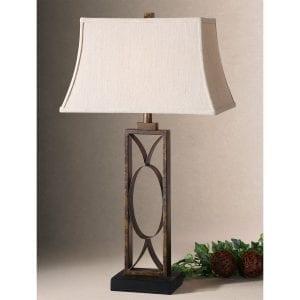 Uttermost Manicopa Bronze Table Lamp