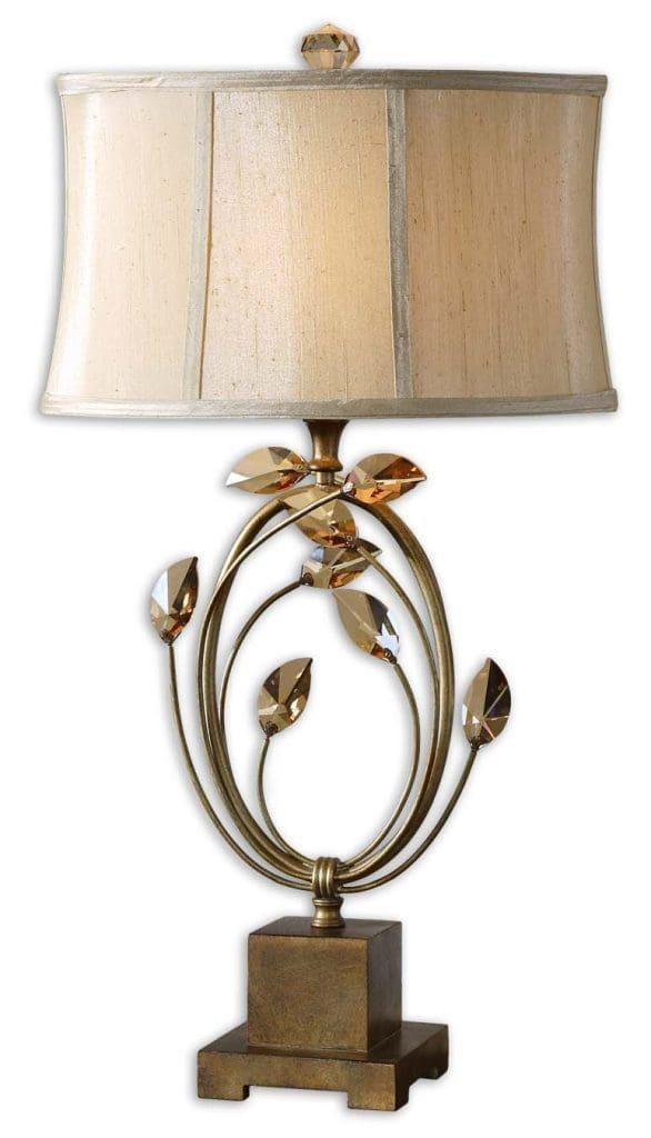 Uttermost Alenya Gold Table Lamp