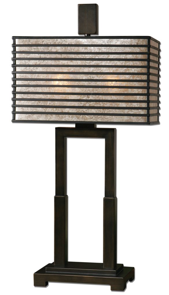 Uttermost Becton Modern Metal Table Lamp