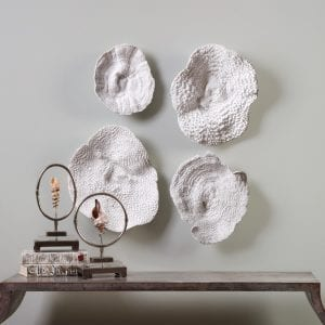 Uttermost Sea Coral Wall Art S/4