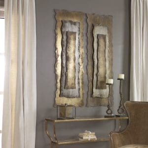 Uttermost Jaymes Oxidized Panel