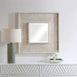 Uttermost Alee Driftwood Square Mirror