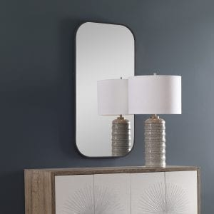 Uttermost Taft Dark Bronze Mirror