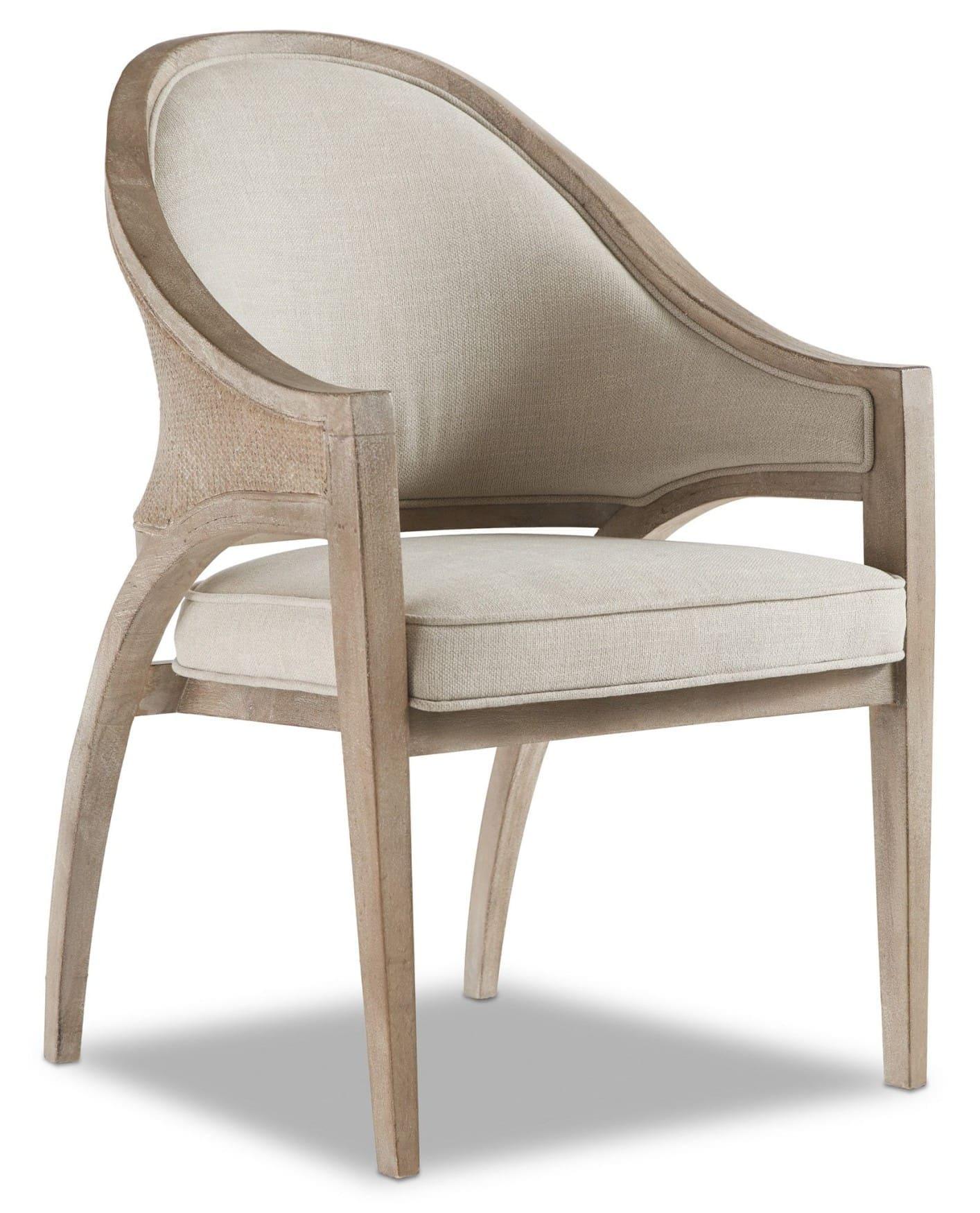 Affinity Sling Back Chair - Raffia Back