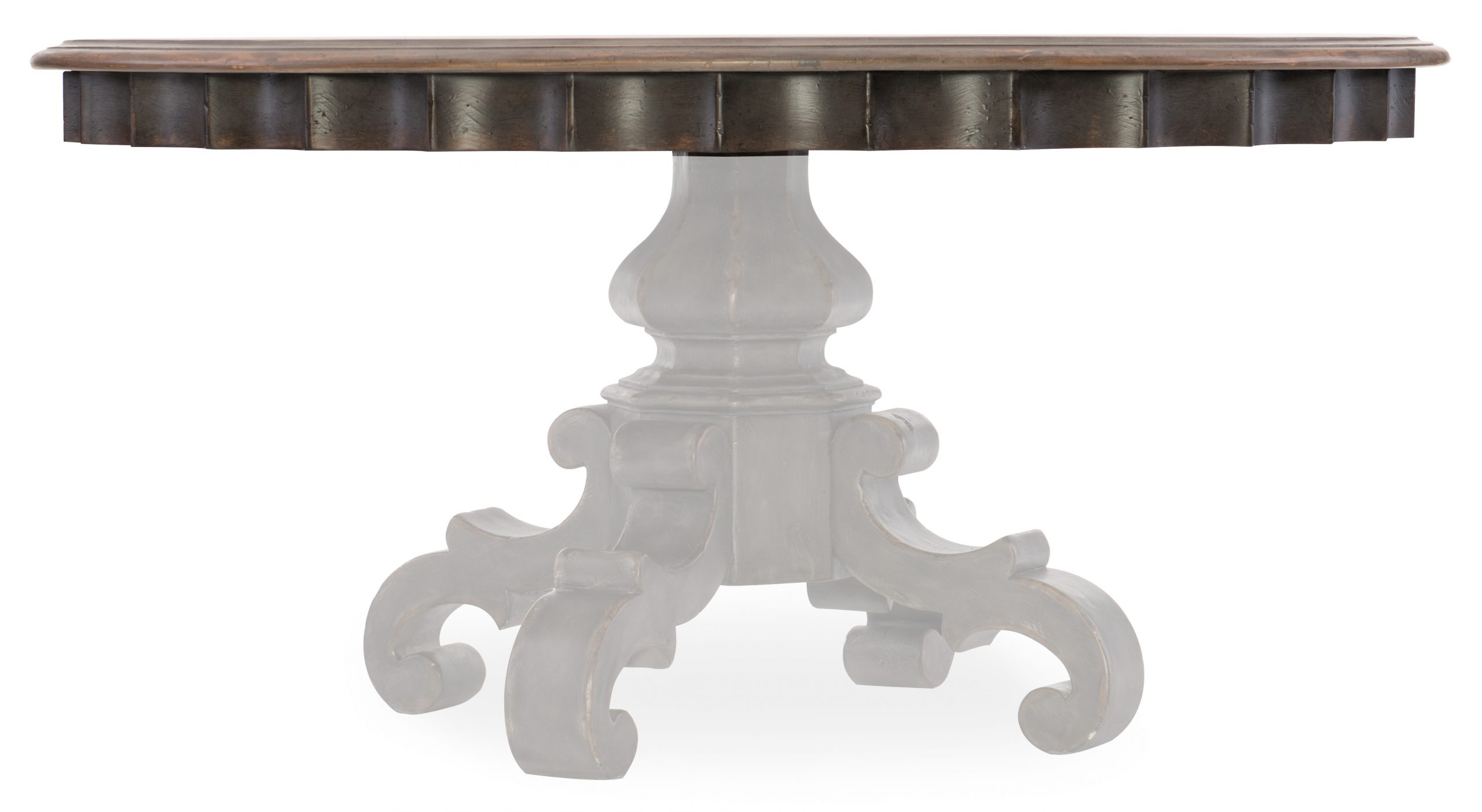 Arabella 60in Round Pedestal Dining Table Top