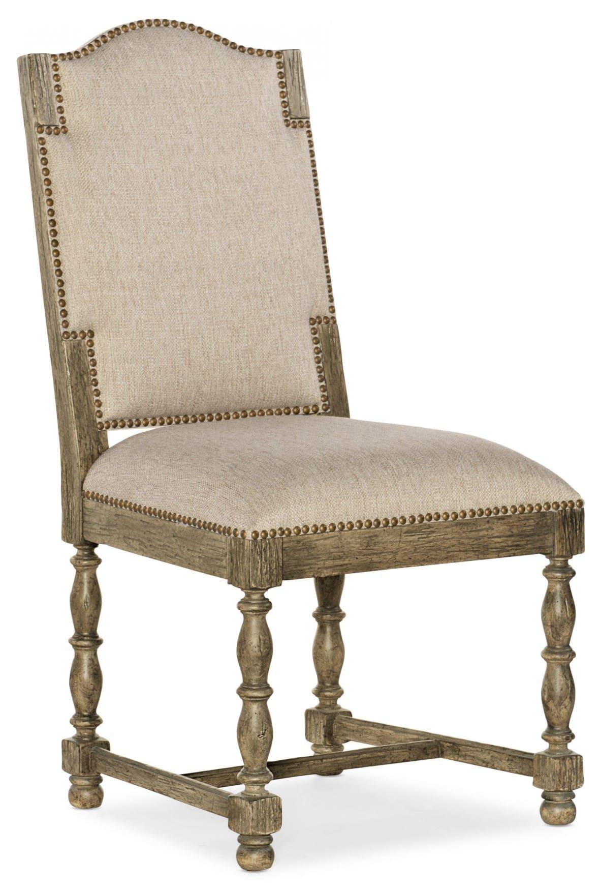 La Grange Kruschel Square Back Side Chair - 2 per carton/price ea