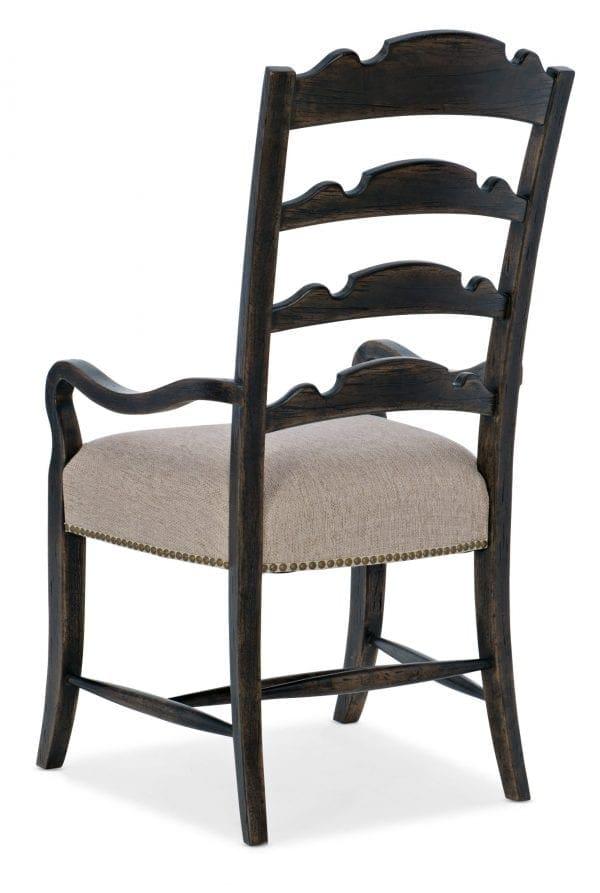 La Grange Twin Sisters Ladderback Arm Chair - 2 per carton/price ea