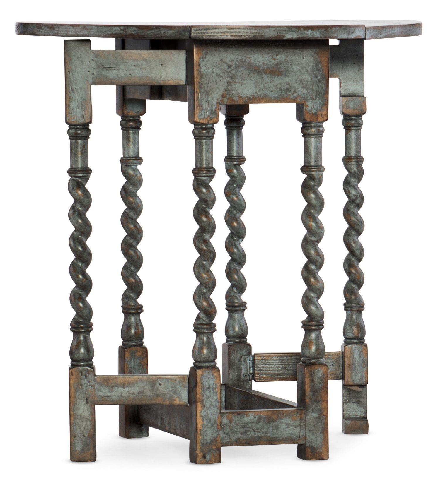 La Grange Prause Gate Leg Round Table