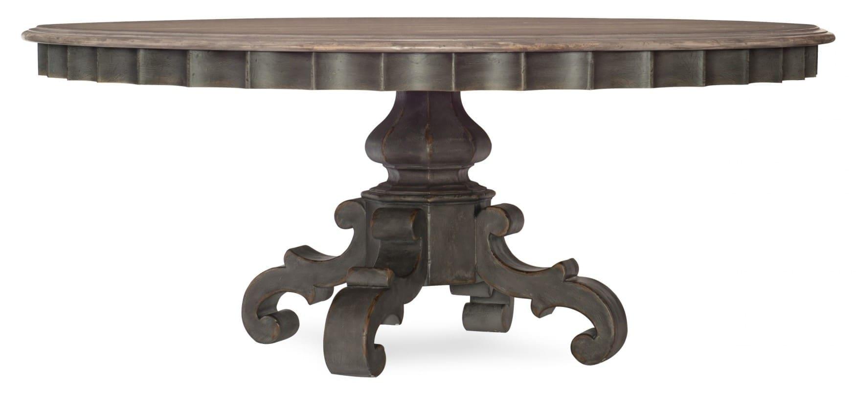 Arabella Round Pedestal Dining Table Base