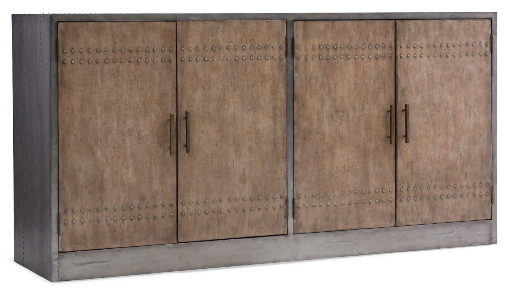 Melange Cooper Four-Door Credenza