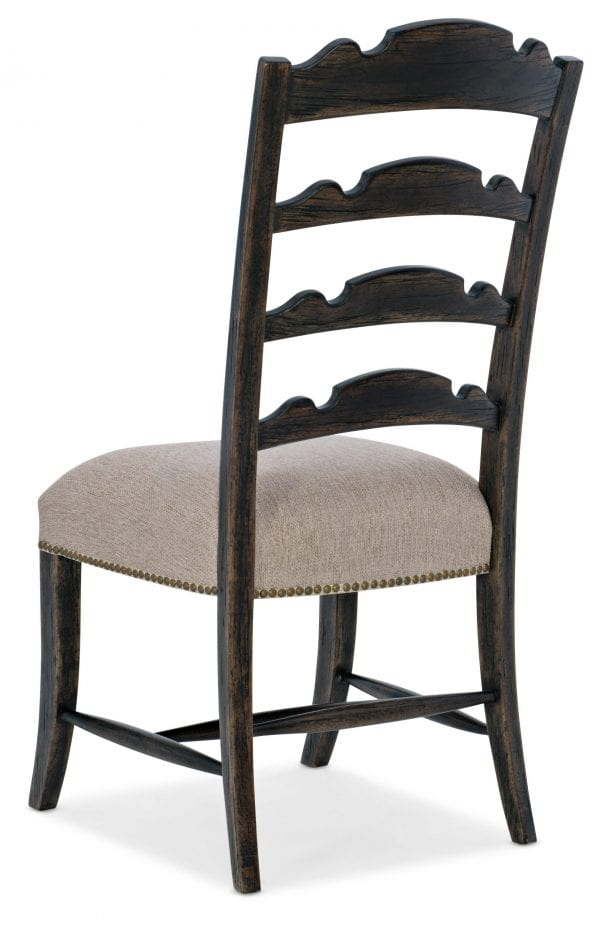 La Grange Twin Sisters Ladderback Side Chair - 2 per carton/price ea