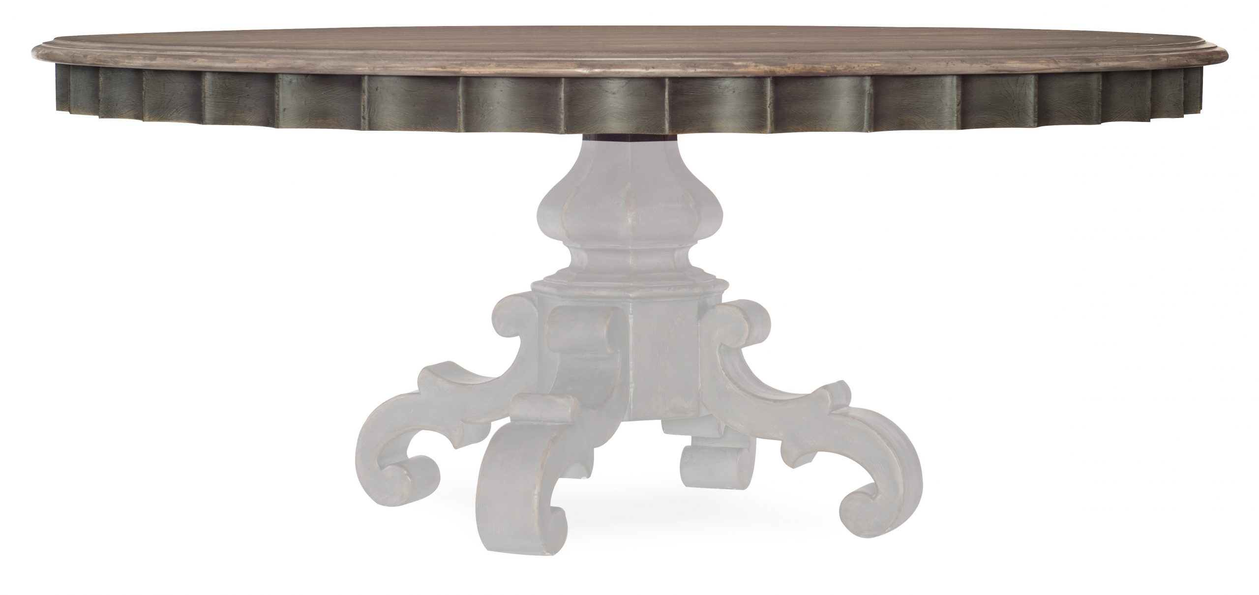 Arabella 72in Round Pedestal Dining Table Top