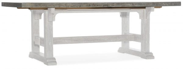 Beaumont 84in Rectangular Dining Table Top w-2/22in Leaves