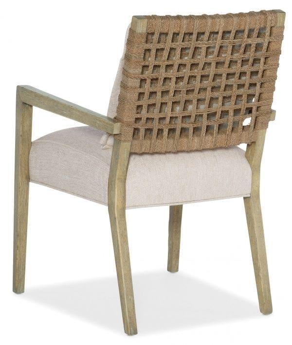 Surfrider Woven Back Arm Chair-2 per ctn/price ea