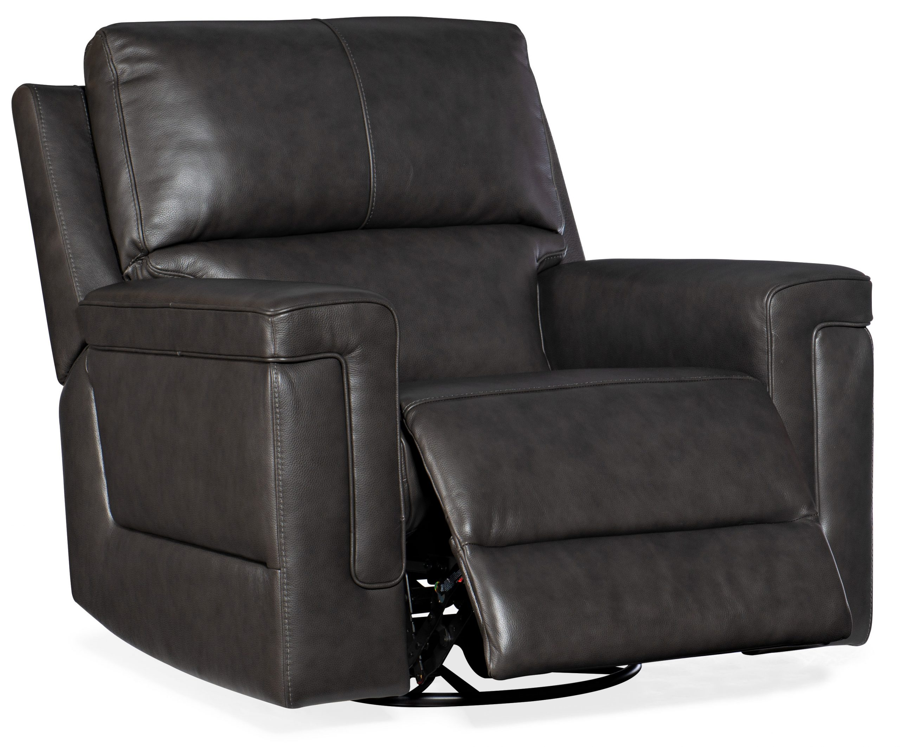 Gable Leather PWR Swivel Glider w/ PWR Headrest