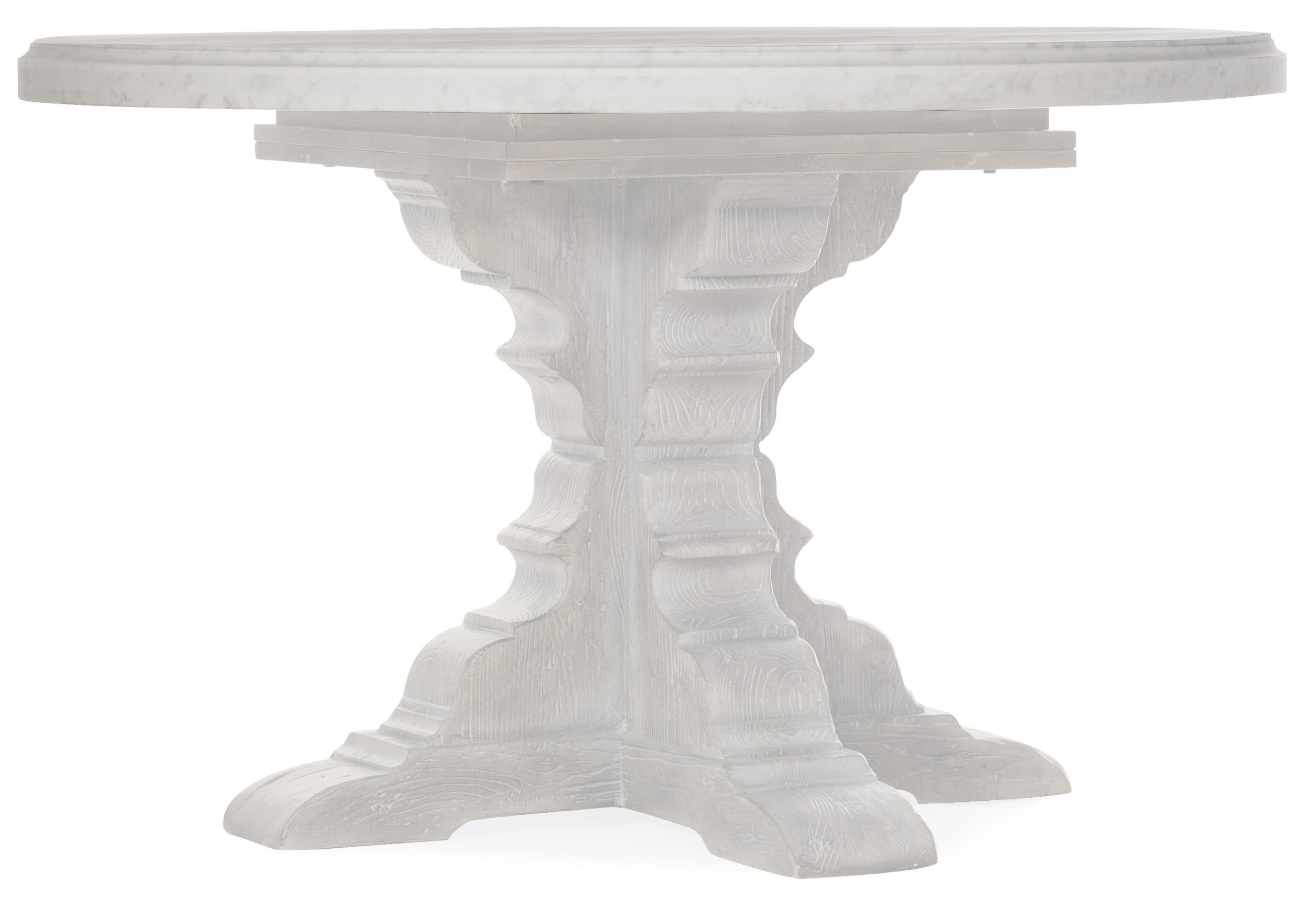 Beaumont 48in Round Marble Dining Table Top