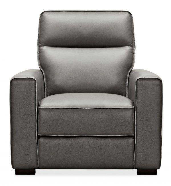 Braeburn Leather Recliner w/PWR Headrest