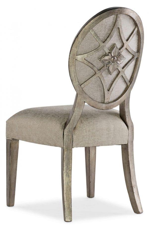 Sanctuary Romantique Oval Side Chair - 2 per carton/price ea