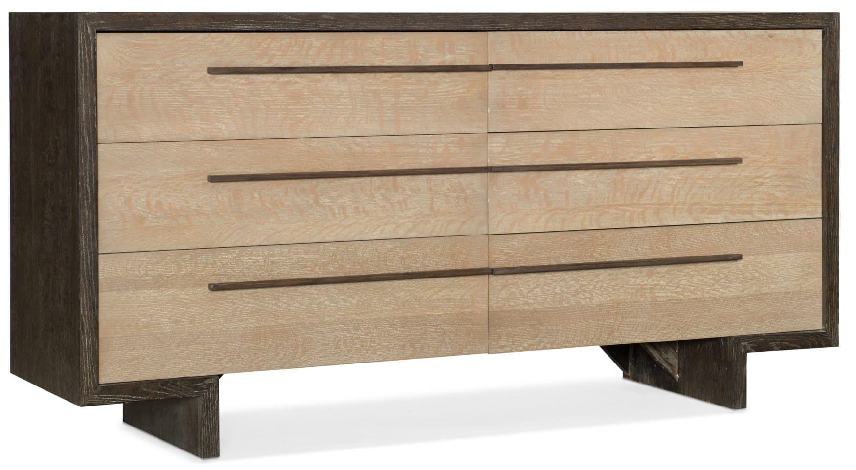 Miramar Point Reyes Richter Six Drawer Dresser