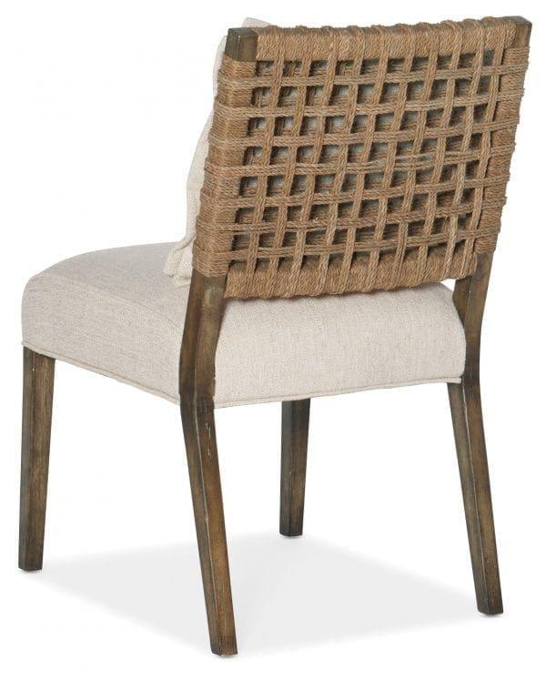 Sundance Woven Back Side Chair-2 per ctn/price ea