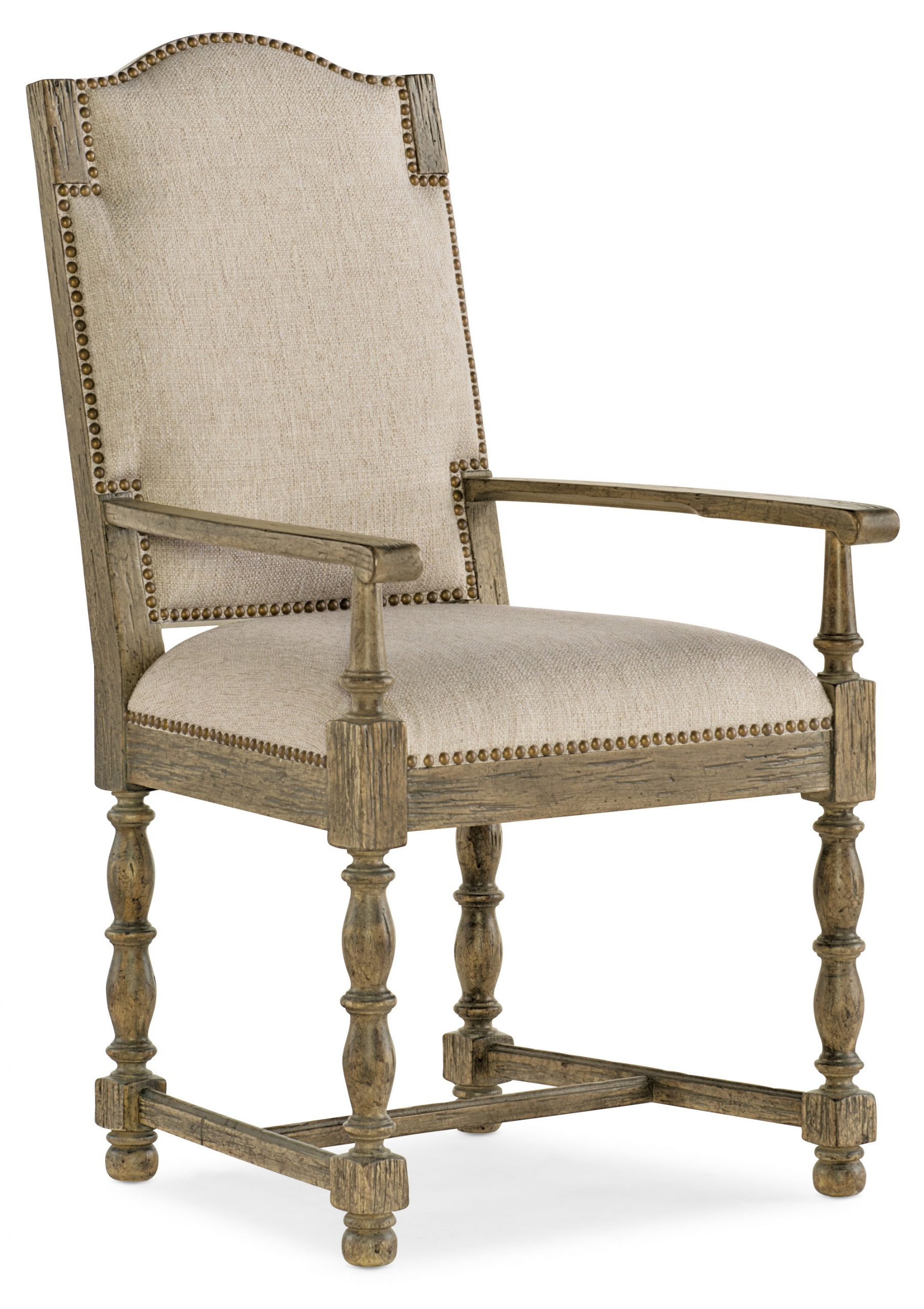 La Grange Kruschel Square Back Arm Chair - 2 per carton/price ea