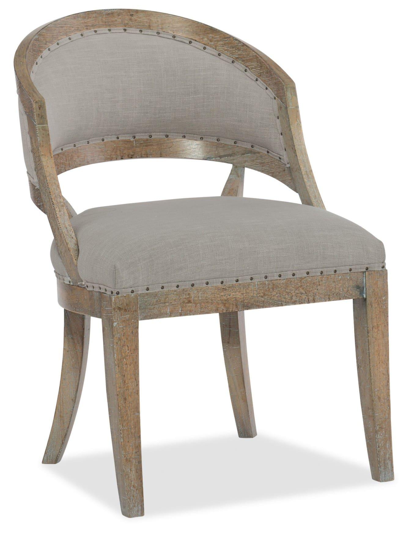 Boheme Garnier Barrel Back Chair - 2 per carton/price ea