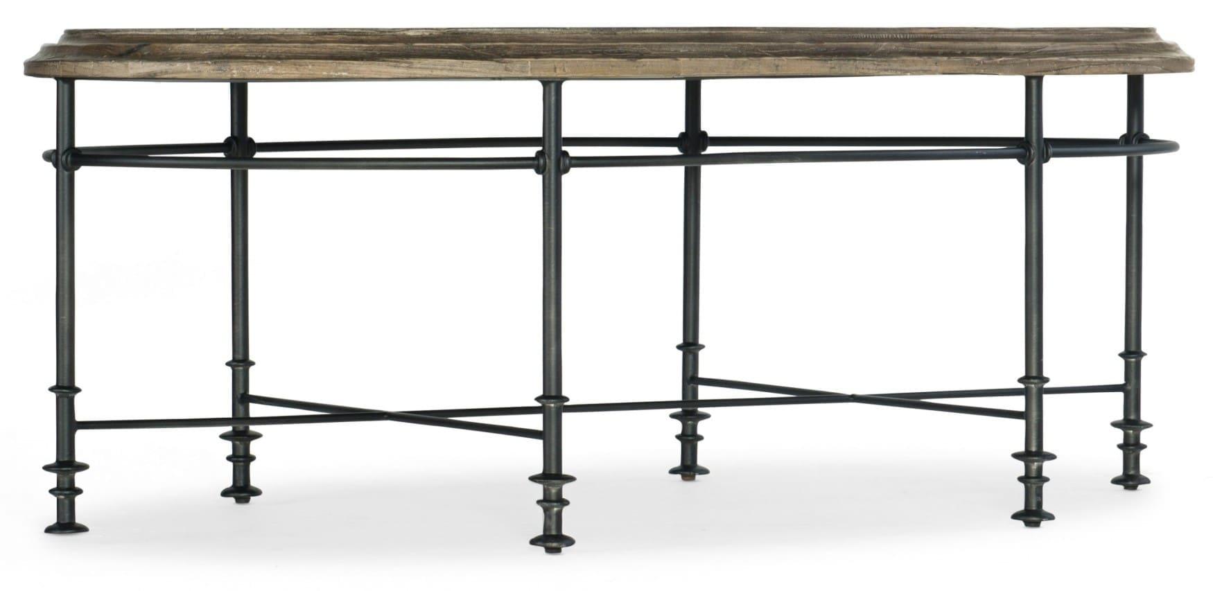 La Grange Faison Oval Cocktail Table