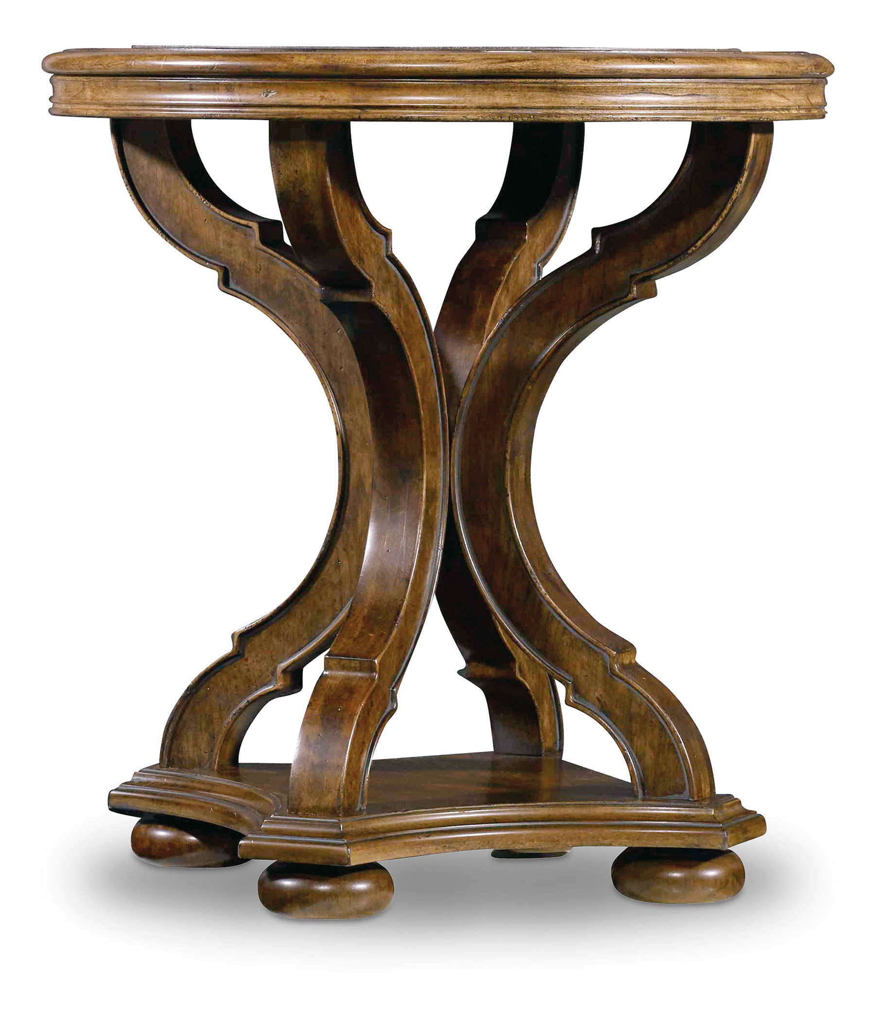 Archivist Round End Table