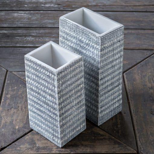 Uttermost Nomad Rectangular Vases S/2