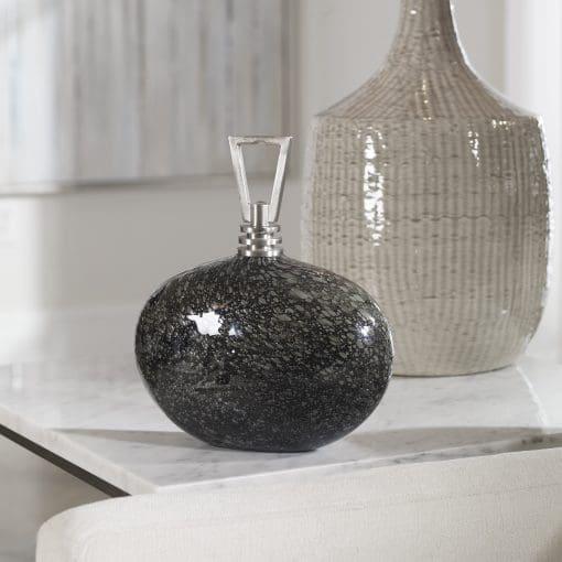 Uttermost Cosmos Bubble Glass Bottle