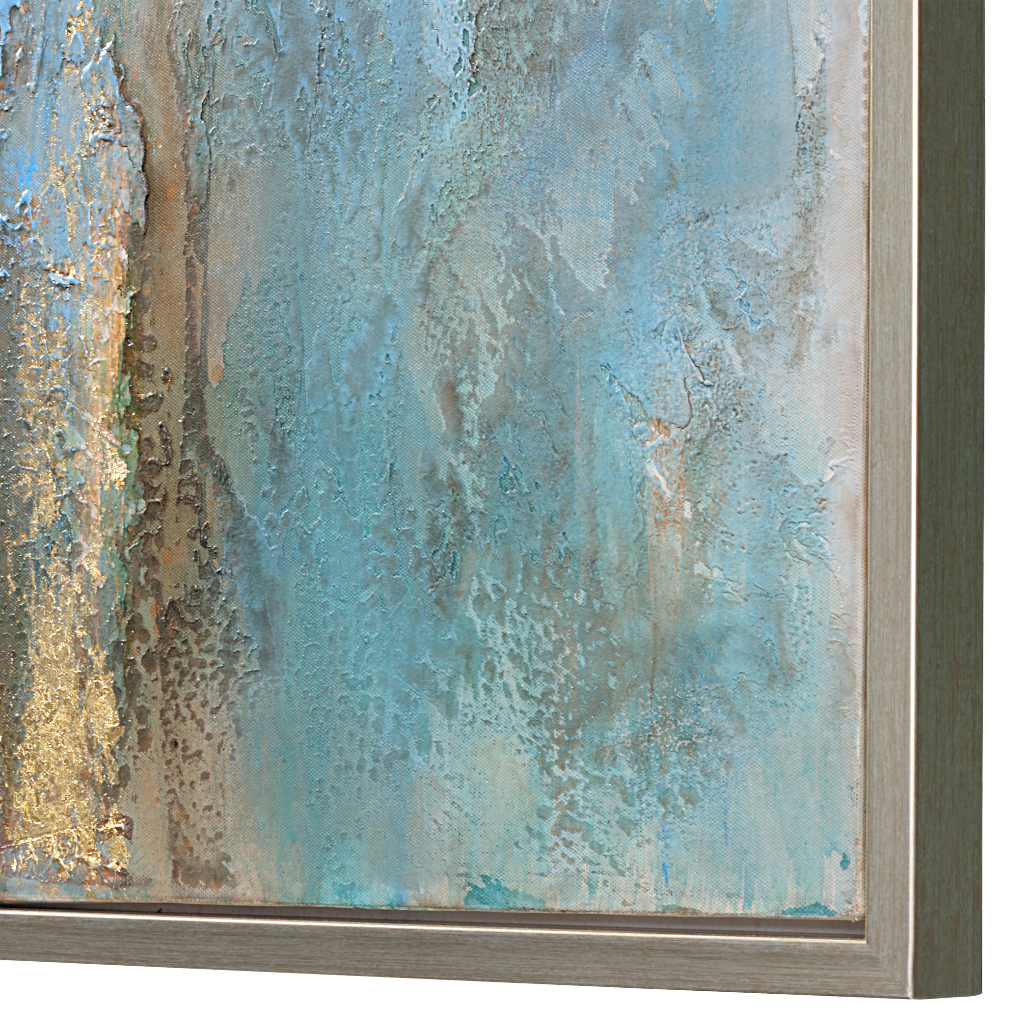 Uttermost Rendezvous Hand Painted Abstract Art